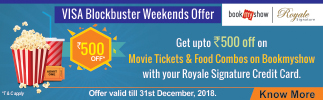 Movie Offer on Royale Signature