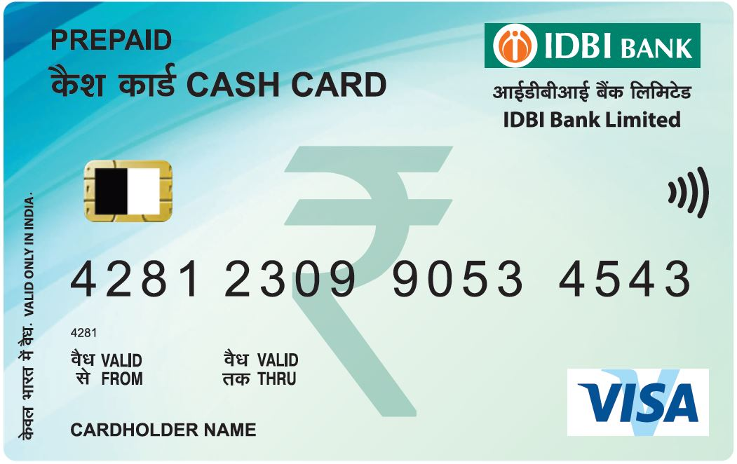 IDBI Bank Cash Card
