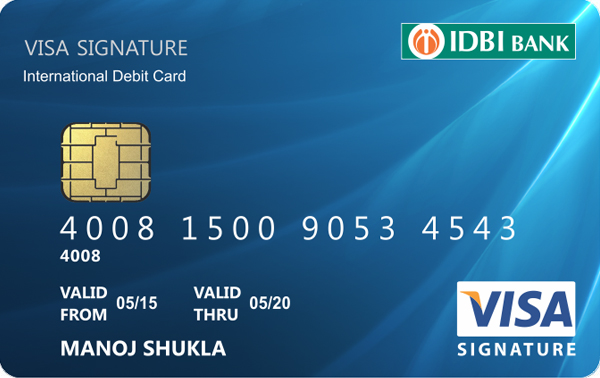 Signature Debit Card