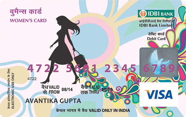 Women's Debit Card